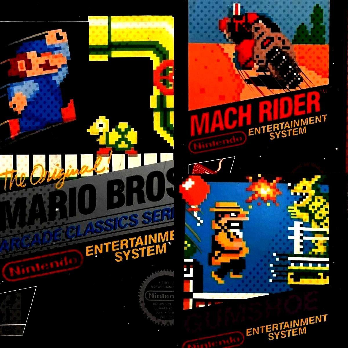 (NES) Box Art Designs Pt 2 – Black Box Titles Continued – Cartridge Corner : Early Nintendo Ent