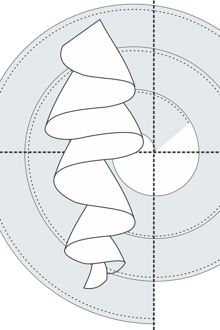 Volado formando caracol | costura trenzado | Costura, Patrones y Moldes
