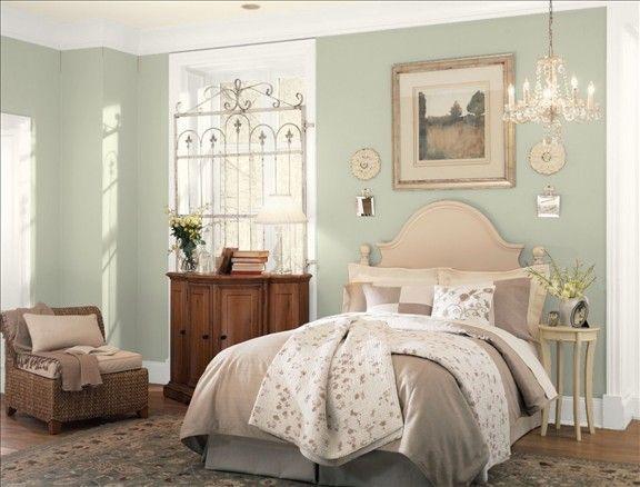 Benjamin Moore October Mist Bedroom Color Schemes Bedroom Colors Home