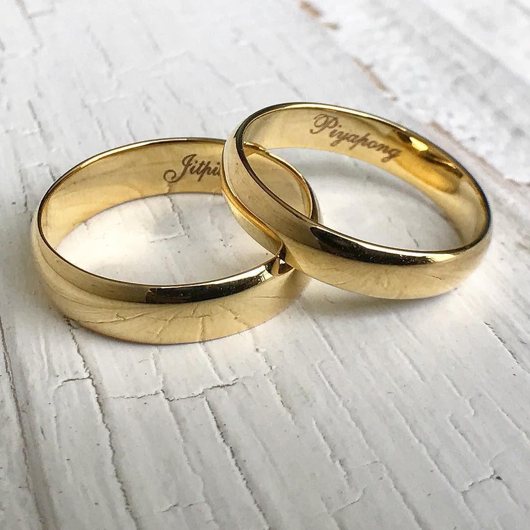 แหวนคทองคำสลกชอ คณ Tuck คะ เสรจเรยบรอยคะ คณลกคาสงทางออนไล