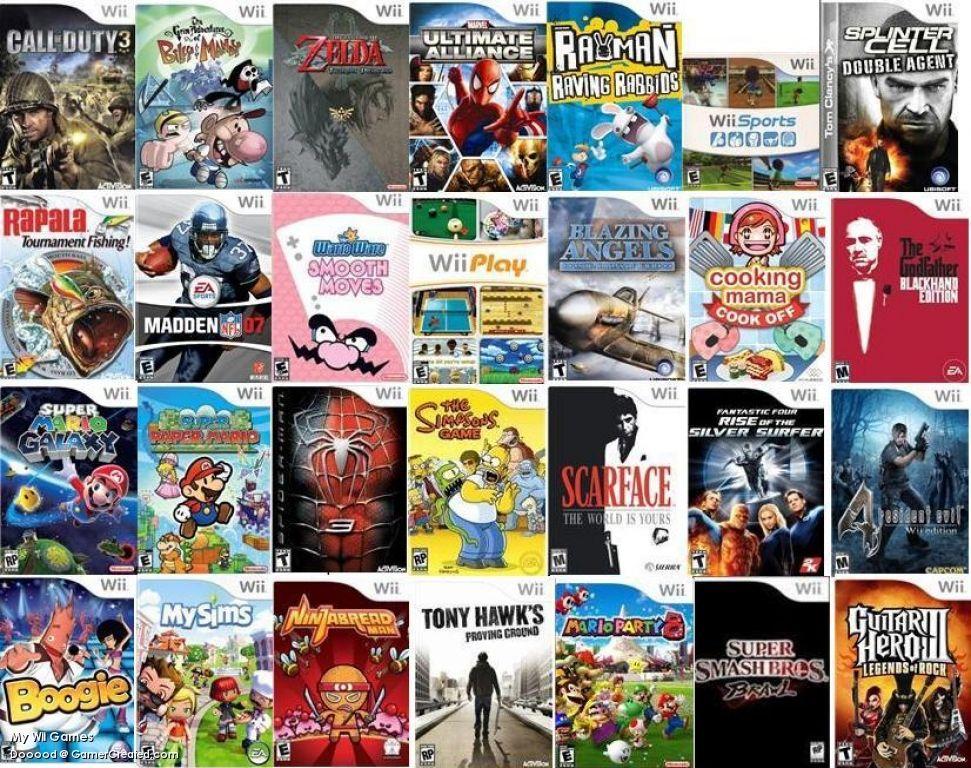 Wii U Games List : Wii games video game stuff pinterest