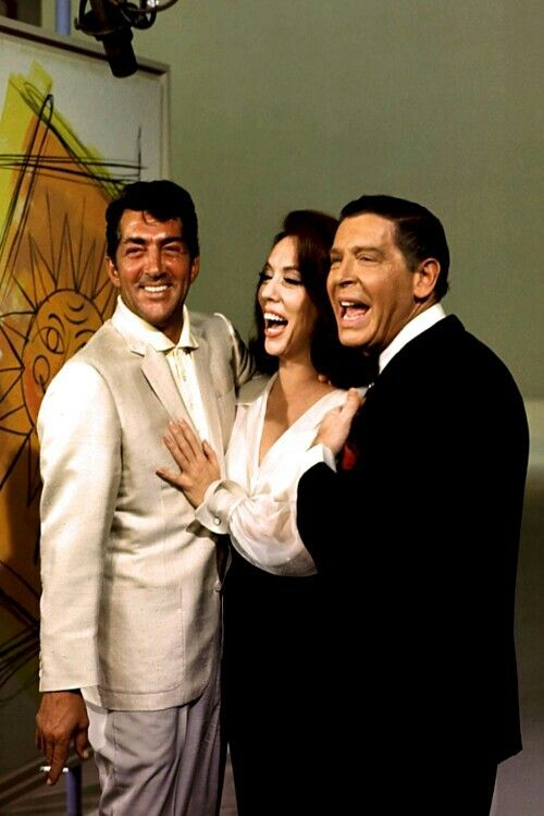 Dean Martin, Cyd Charisse and Milton Berle / AS1966