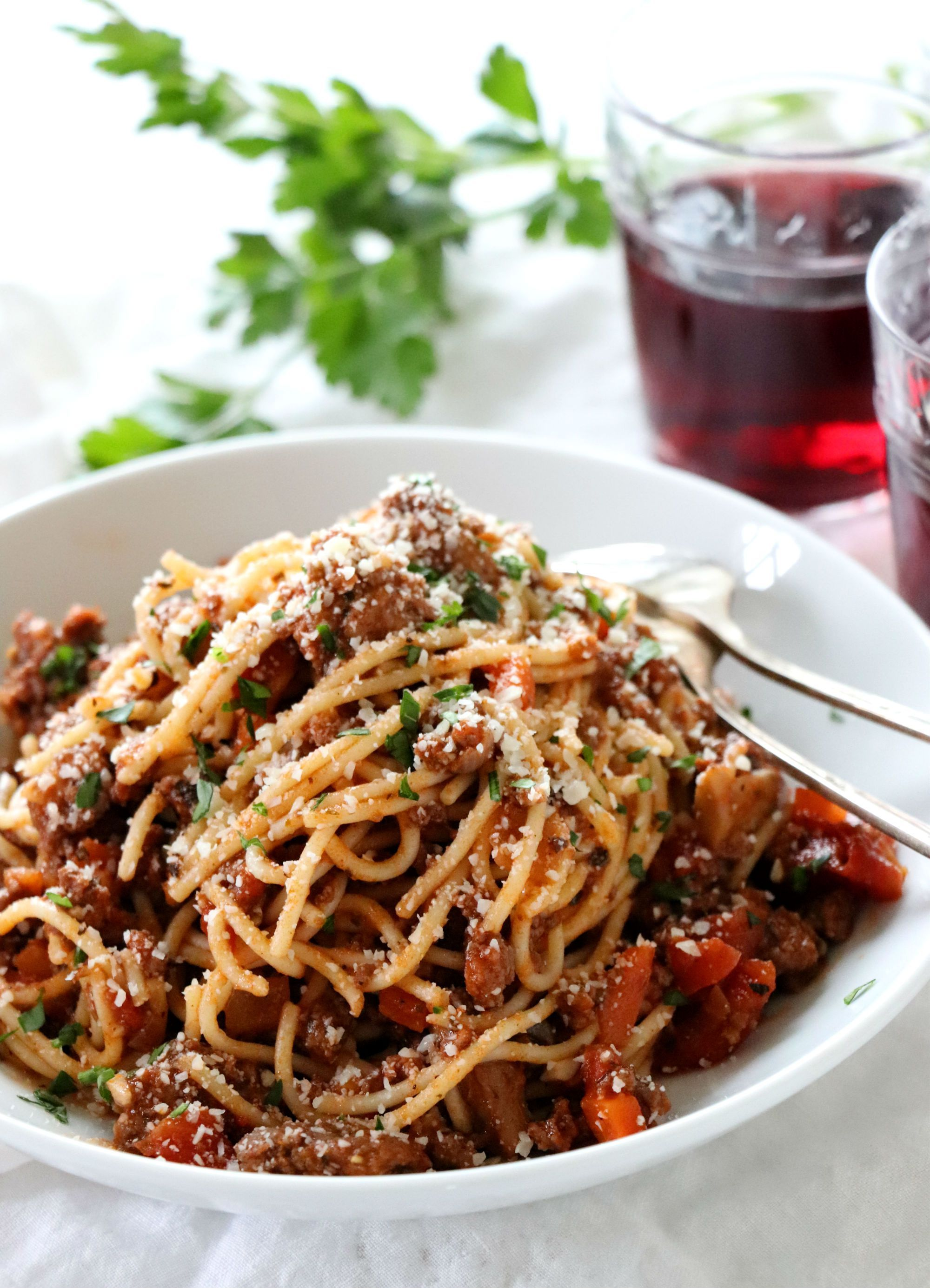Spaghetti Bolognese Recipe Dinner Recipes Pinterest