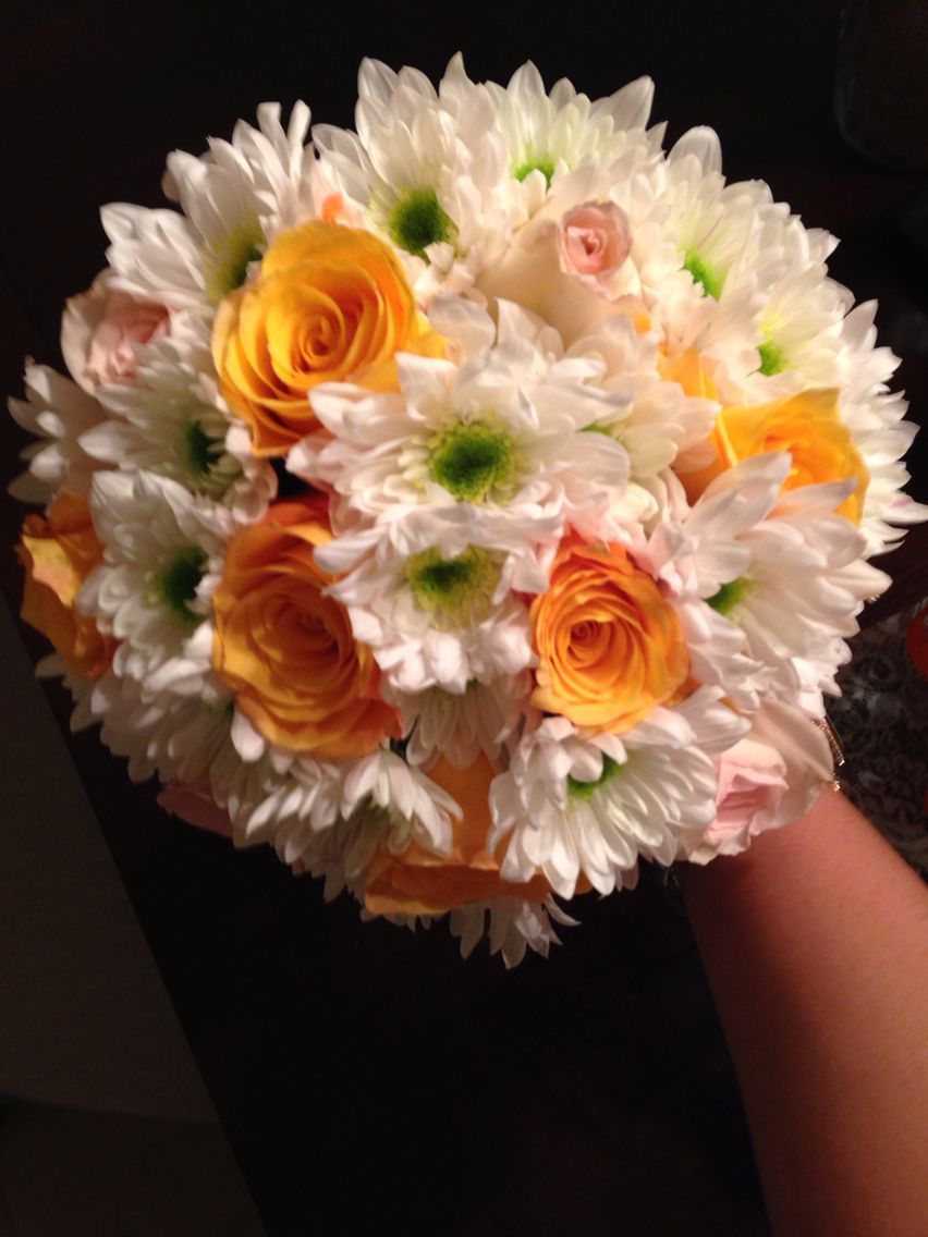 My wedding bouquet , all brought from publix for under $20   October ...