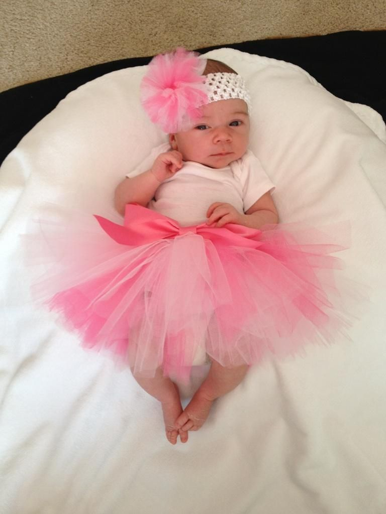 pink frilly 1 week old baby girl photo shoot ideas pinterest