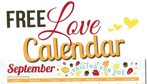 The dating divas love calendar