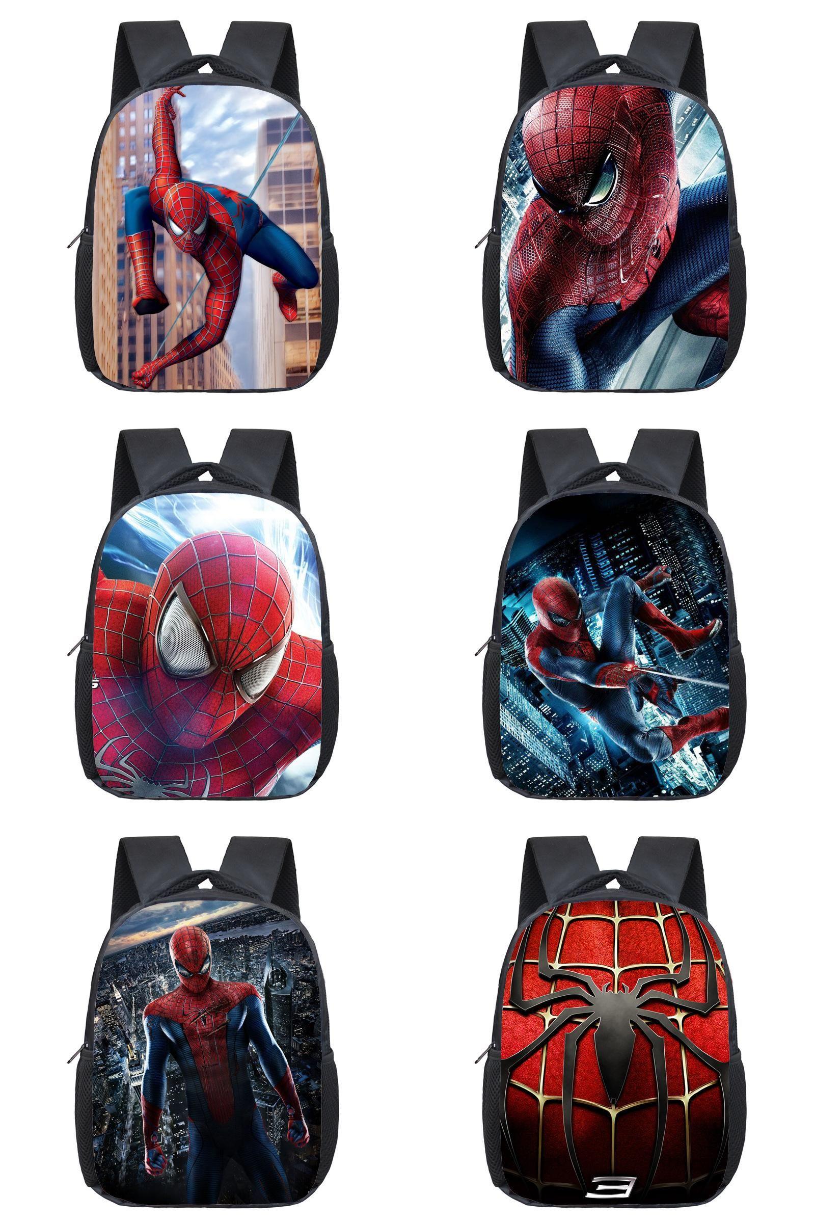 1e22664ac6  Visit to Buy  Comics Hero Spiderman Backpack Children Super Hero spider  Man School Backpacks