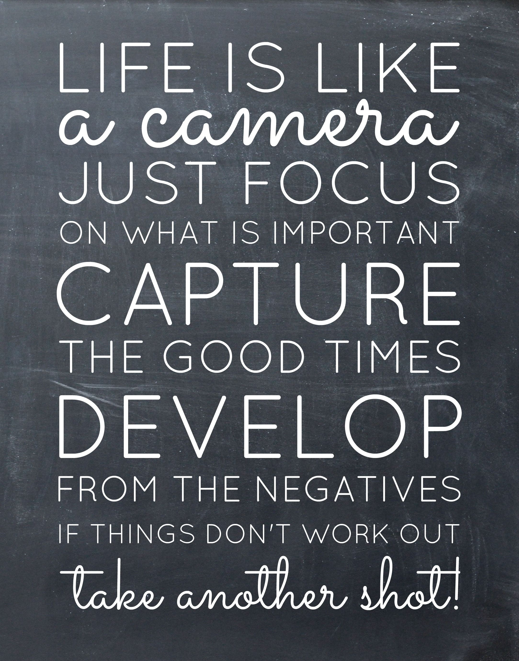 Motivational Memes Printable Inspirational Quotes Camera Quotes Motivational Memes