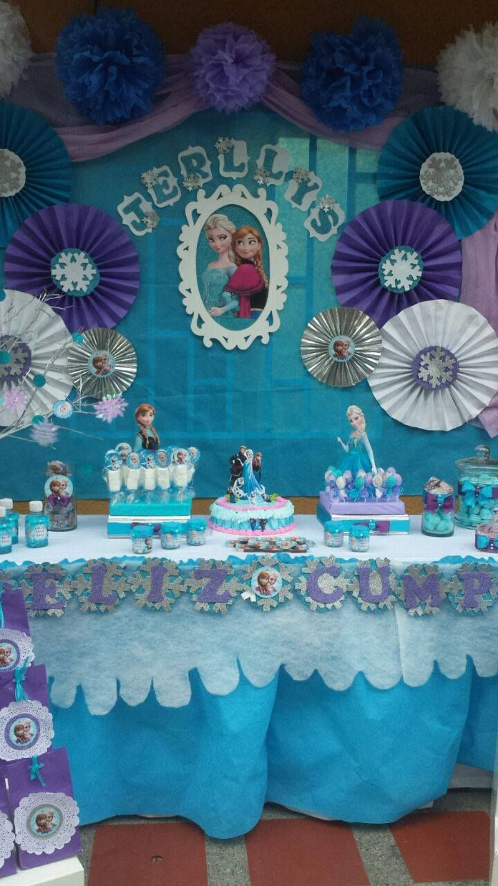Pin de wilda santana en Frozen | Frozen birthday party ...