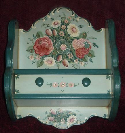 Austrian Style Shelf with Drawer