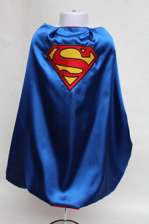 diy superhero cape template - personalized superman cape reversible for your little