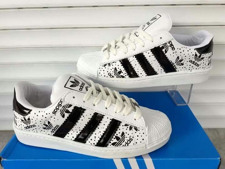 cf0f677951c6 Adidas Superstar custom made