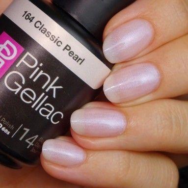 Pin On Pink Gellac Nude Gel Polish