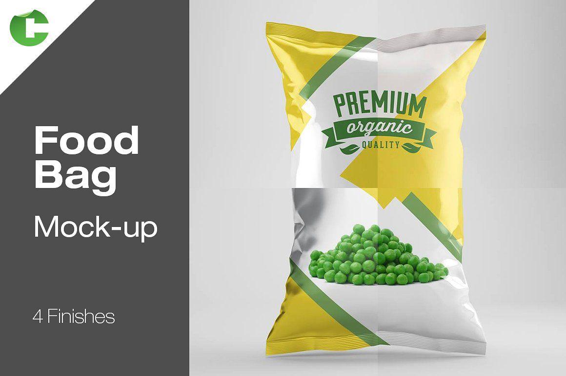 8689+ Food Bag Mockup Psd Mockups Design