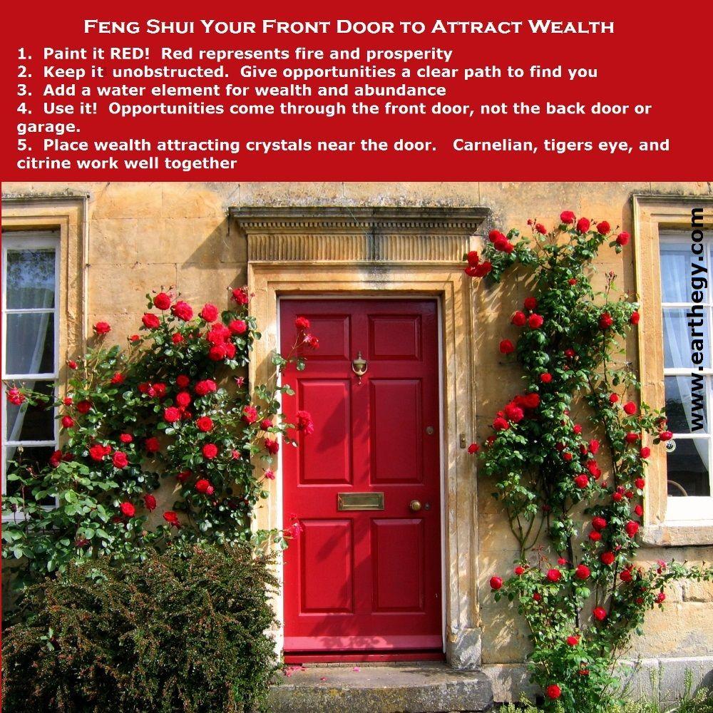 Feng shui front door feng shui pinterest puertas for Feng shui kleuren