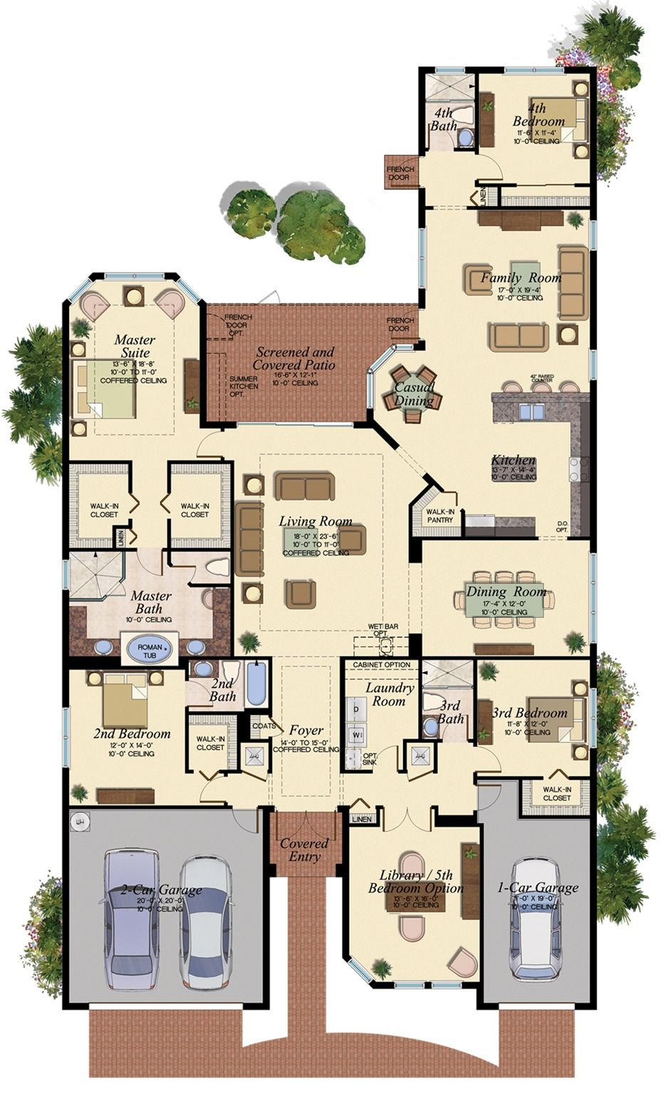 Drake Model Floorplan New House Plans My House Plans Family House Plans