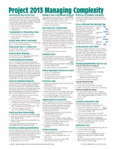 microsoft project 2013 quick reference guide managing complexity rh pinterest com microsoft office 2013 quick reference guide microsoft office 2013 essentials quick reference guide