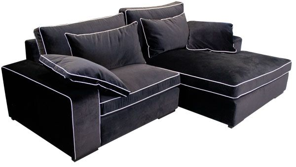 ecksofa aus sofasystem sofas f r kleine r ume pinterest. Black Bedroom Furniture Sets. Home Design Ideas