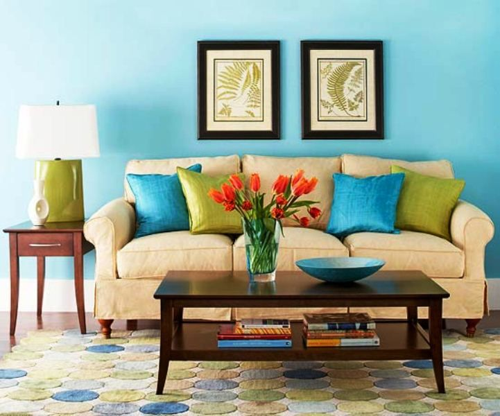 10+ Amazing Teal And Tan Living Room
