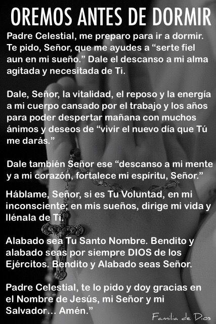 Oracion De La Noche Gracias Dios Un Nuevo Dia Oracion Dios