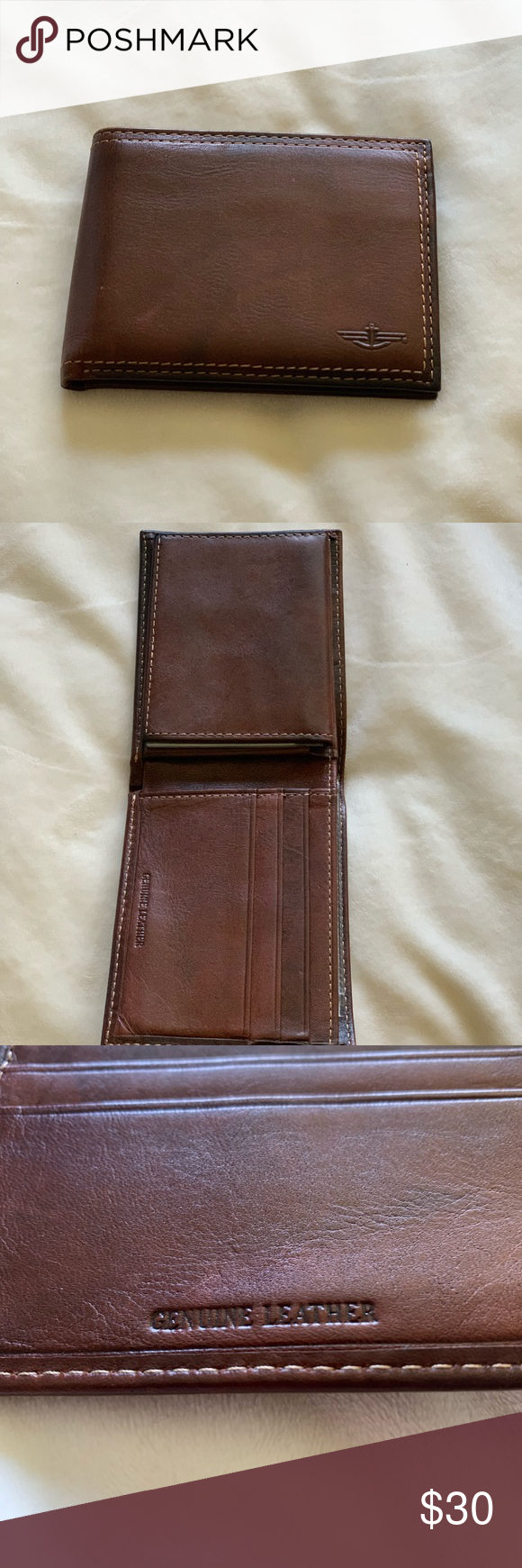 Brand new Dockers wallet with card holder A brand new