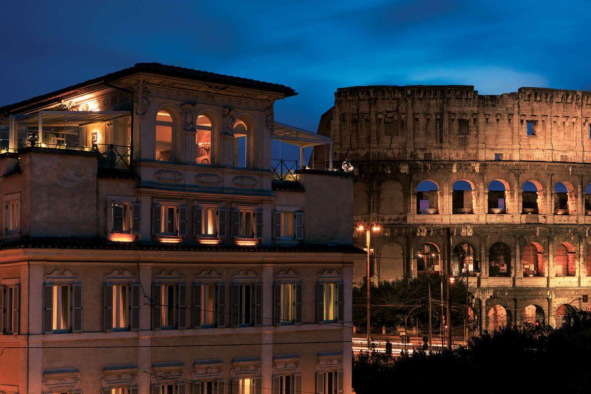 5 Star Hotel In Rome Near The Colosseum Palazzo Manfredi Photo 1