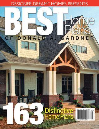 Designer Dream Homes Best Home Plans Of Donald A. Gardner