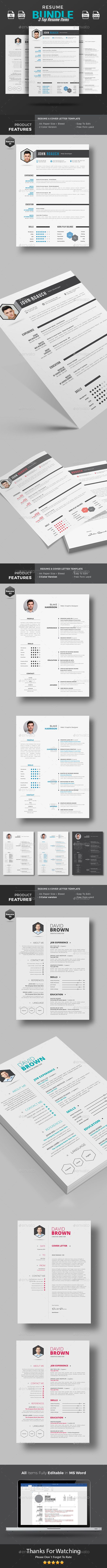 Resume Word Modern Resume Template Modern Resume
