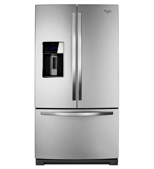 Gold Refrigerator From Whirlpool Best French Door Refrigerator