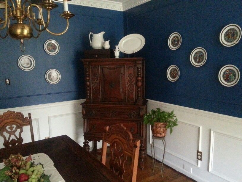 Tips For Kitchen Color Ideas: Sherwin Williams Regatta Blue