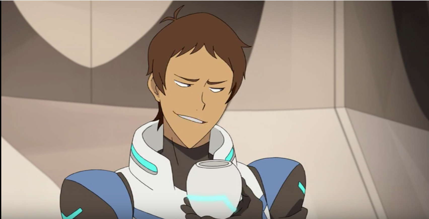 Lance Trying To Tell Keith How To Do The Voltron Cheer