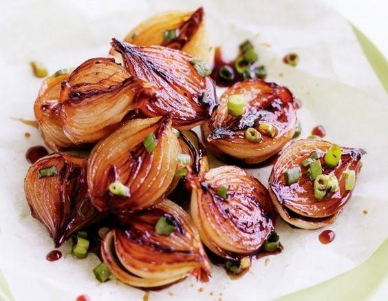 Cebolas Caramelizadas ao Vinagre Balsâmico (vegana)