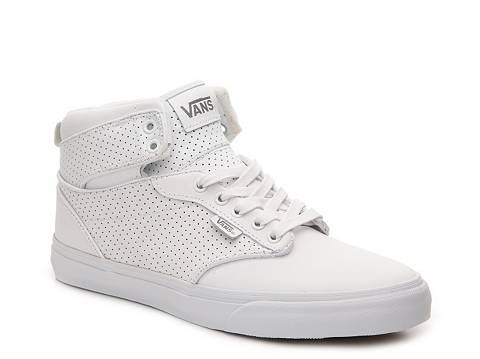 ea3da4e160f6dc 70 Vans Atwood Hi Perforated Leather High-Top Sneaker - Mens
