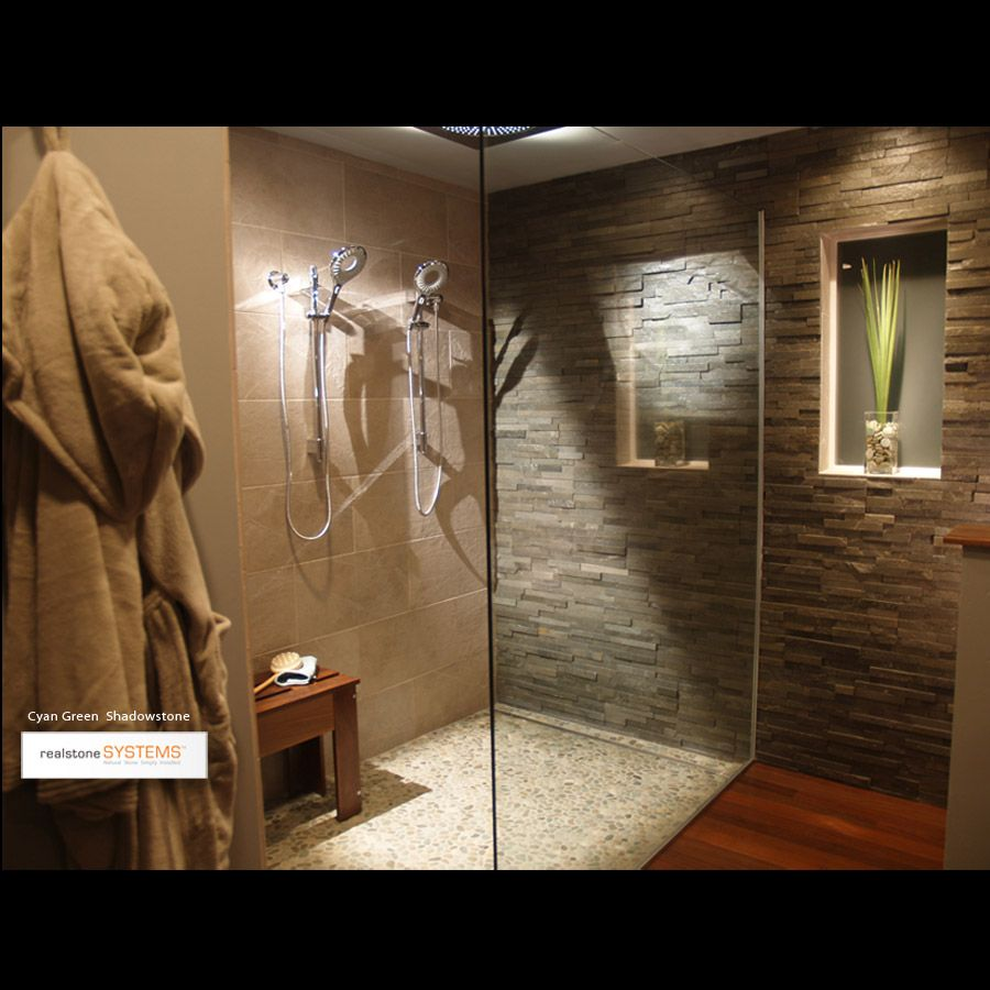 This Amazing Bathroom Gives A Spa Like Feel With Realstone