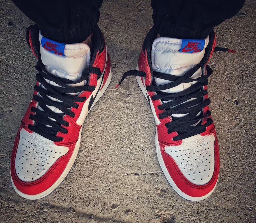 """newest ddf5c 3a26f Jordan 1 OG HIGH """"Spider-Verse"""" 12 14 18   NikeTalk"""