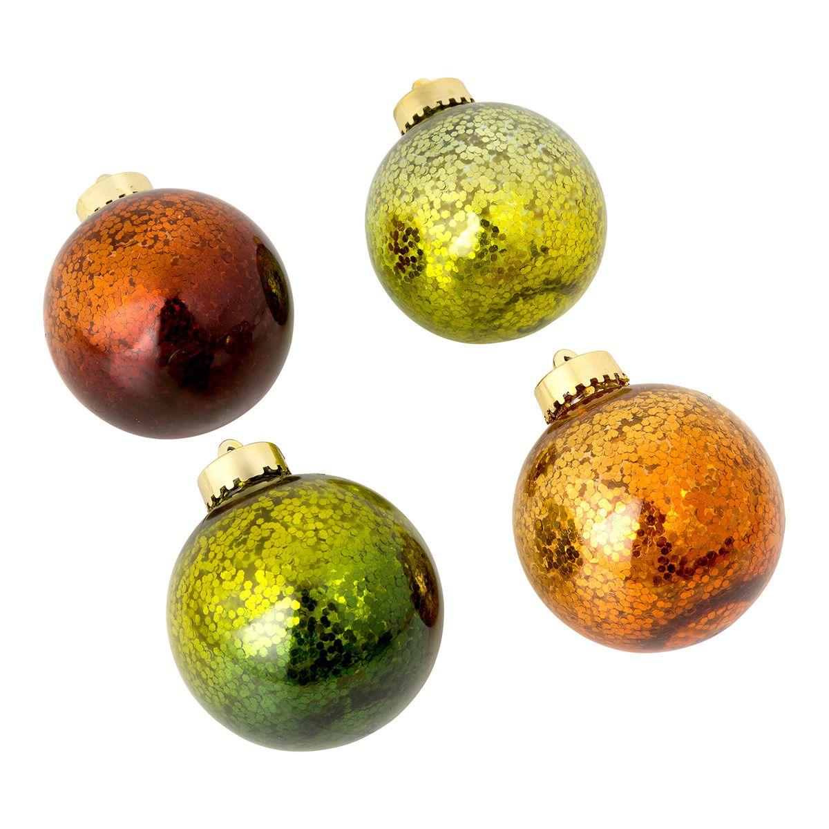 Set X4 Bolas Copos Navidad Por El Corte Ingl S Decoraci N Del  ~ Globos Terraqueos En El Corte Ingles