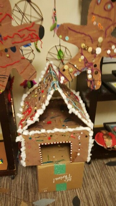 Gingerbread house-class project