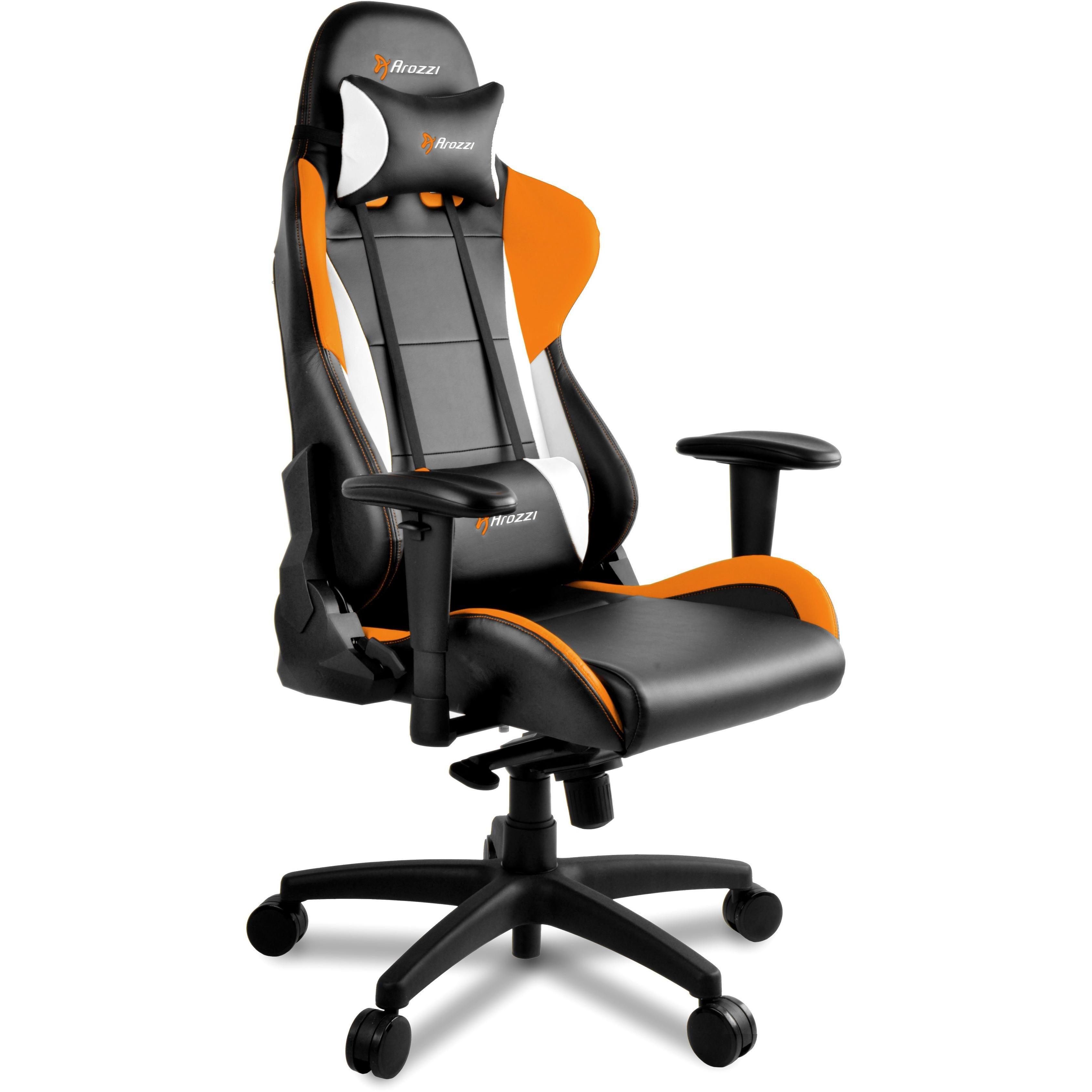 Sensational Arozzi Verona Pro V2 Orange Black Gaming Chair Products Machost Co Dining Chair Design Ideas Machostcouk