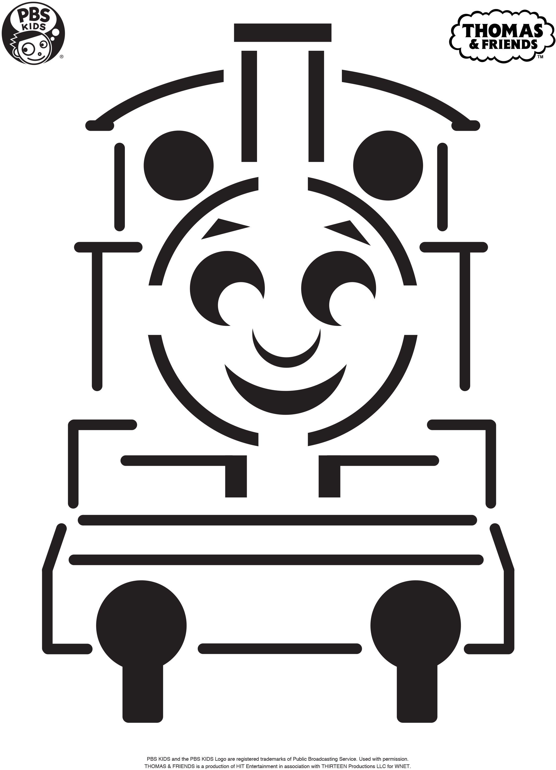 Make A Thomas The Tank Engine Pumpkin With This Pumpkin