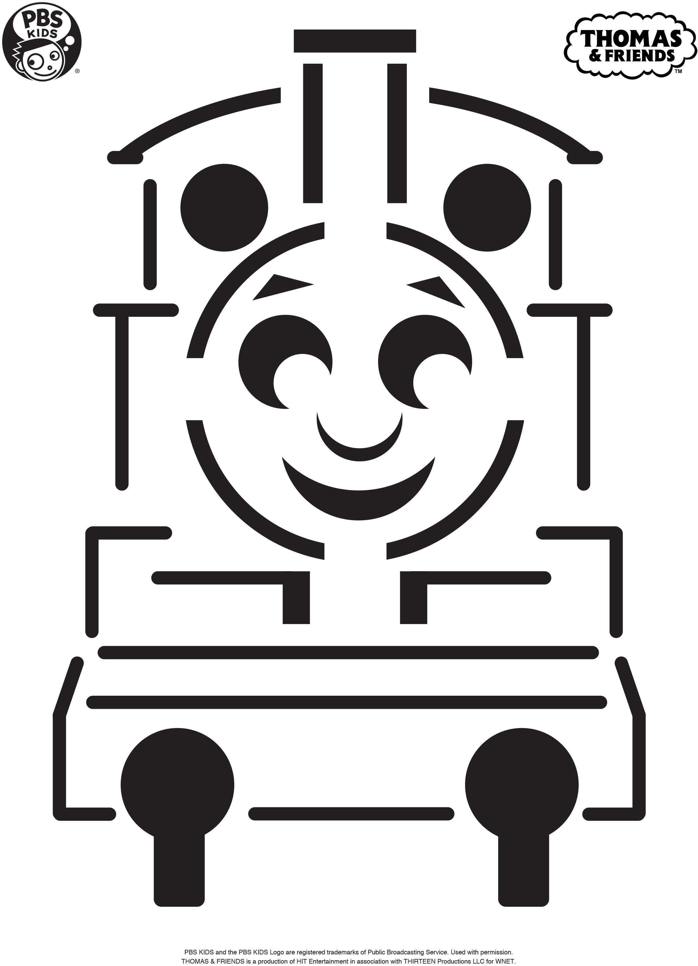 Make a Thomas the Tank Engine pumpkin with this pumpkin carving ...