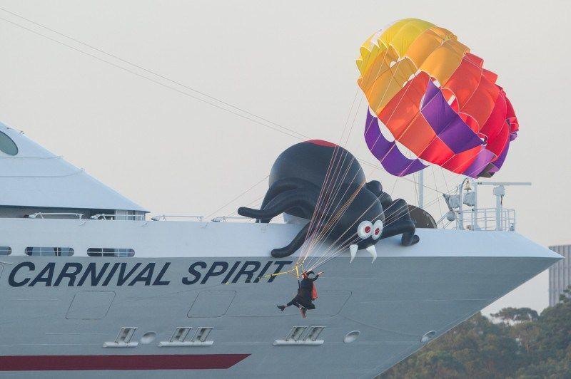 Carnival Spiriti arriva a Sidney 5
