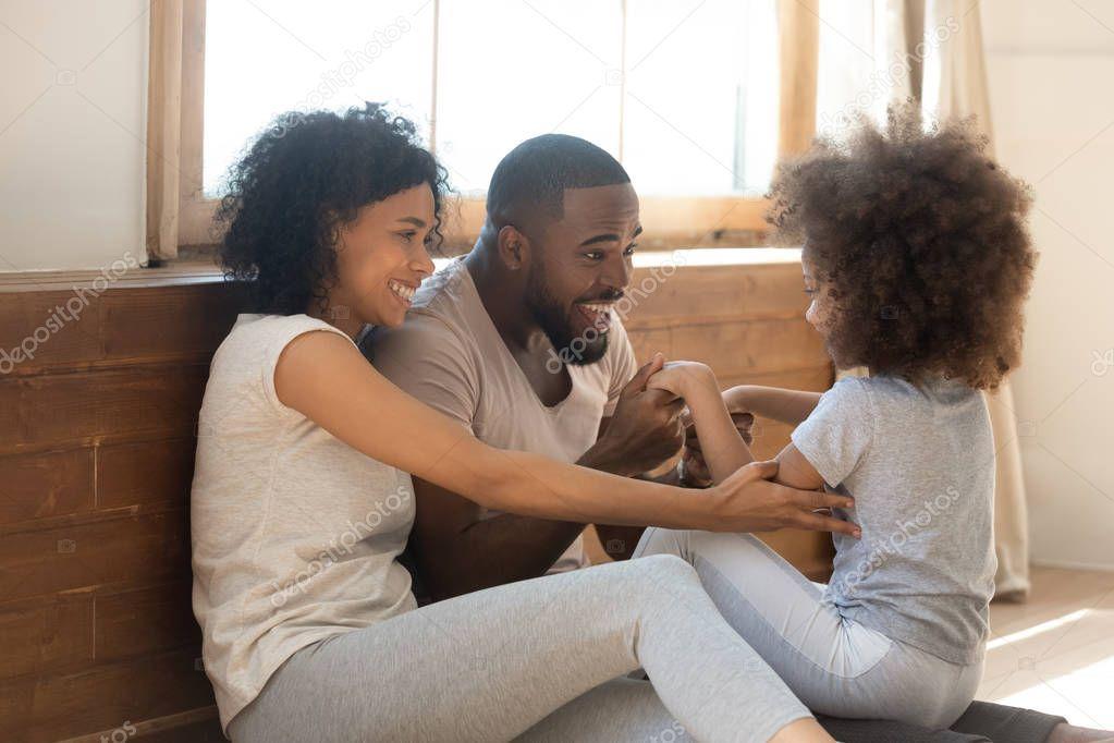 Joyful Smiling Black Family Sitting On Floor In Living Room Stock Phot Sponsored Family Sitting B Black Families Branding Design Inspiration Family