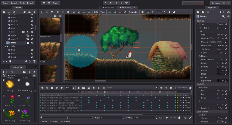 Godot Engine Features Game Design Software Game Design Game Data