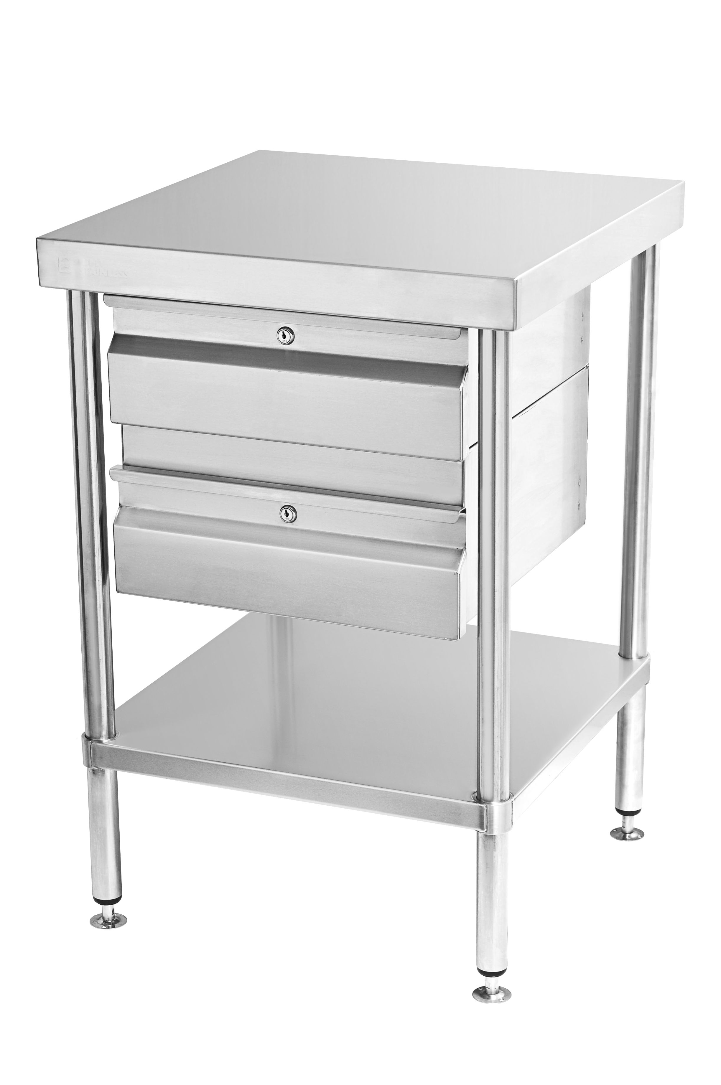 Simply Stainless Ss01 Double Drawers Steel Fabrication Stainless Steel Fabrication Stainless