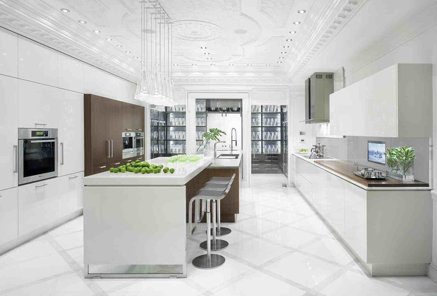 Beautiful white kitchen - Modern - Kitchen - boston - by ...