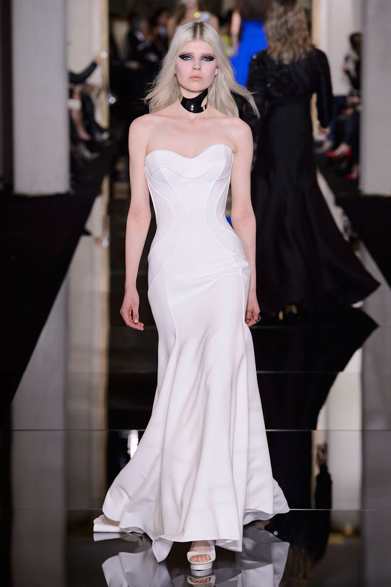 Versace wedding dress  The Best Bridal Looks from Couture Fashion Week  Pinterest