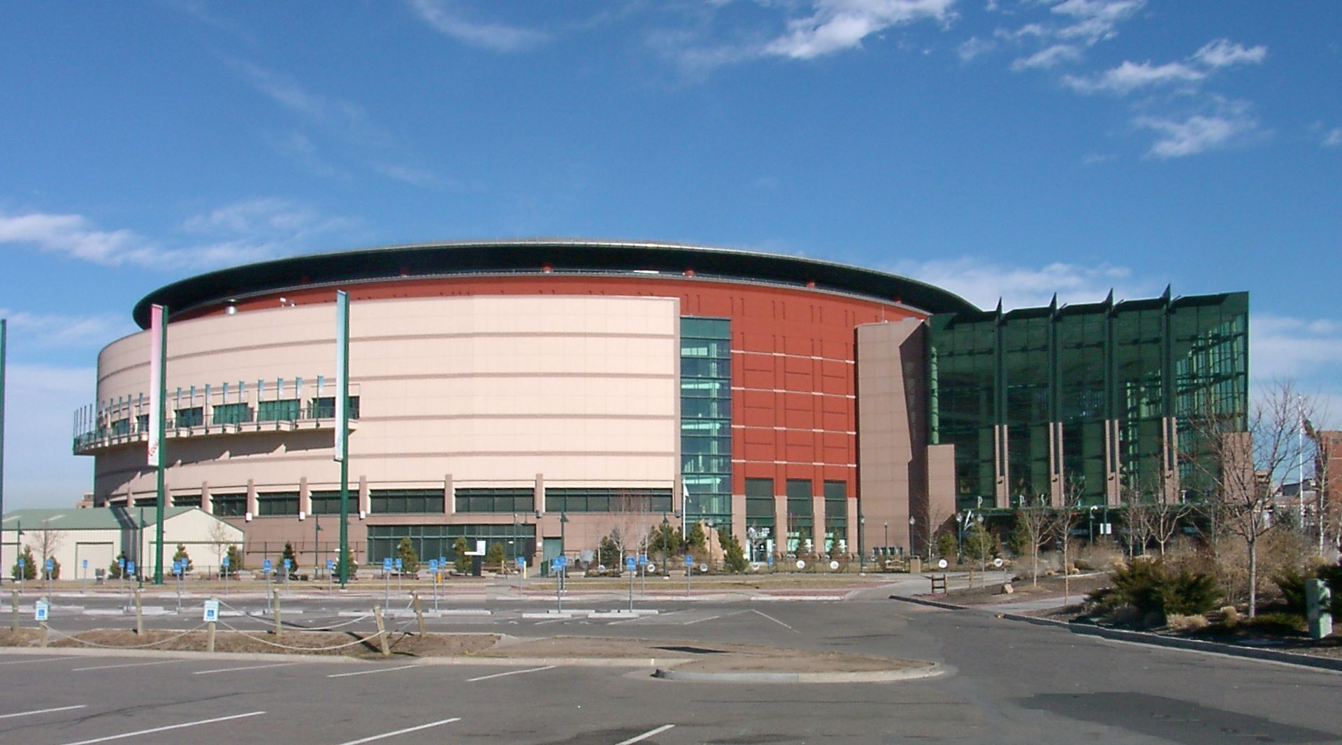 Democratic National Convention Aerial Picture Pepsi Center Arenas and Stadiums Pinterest
