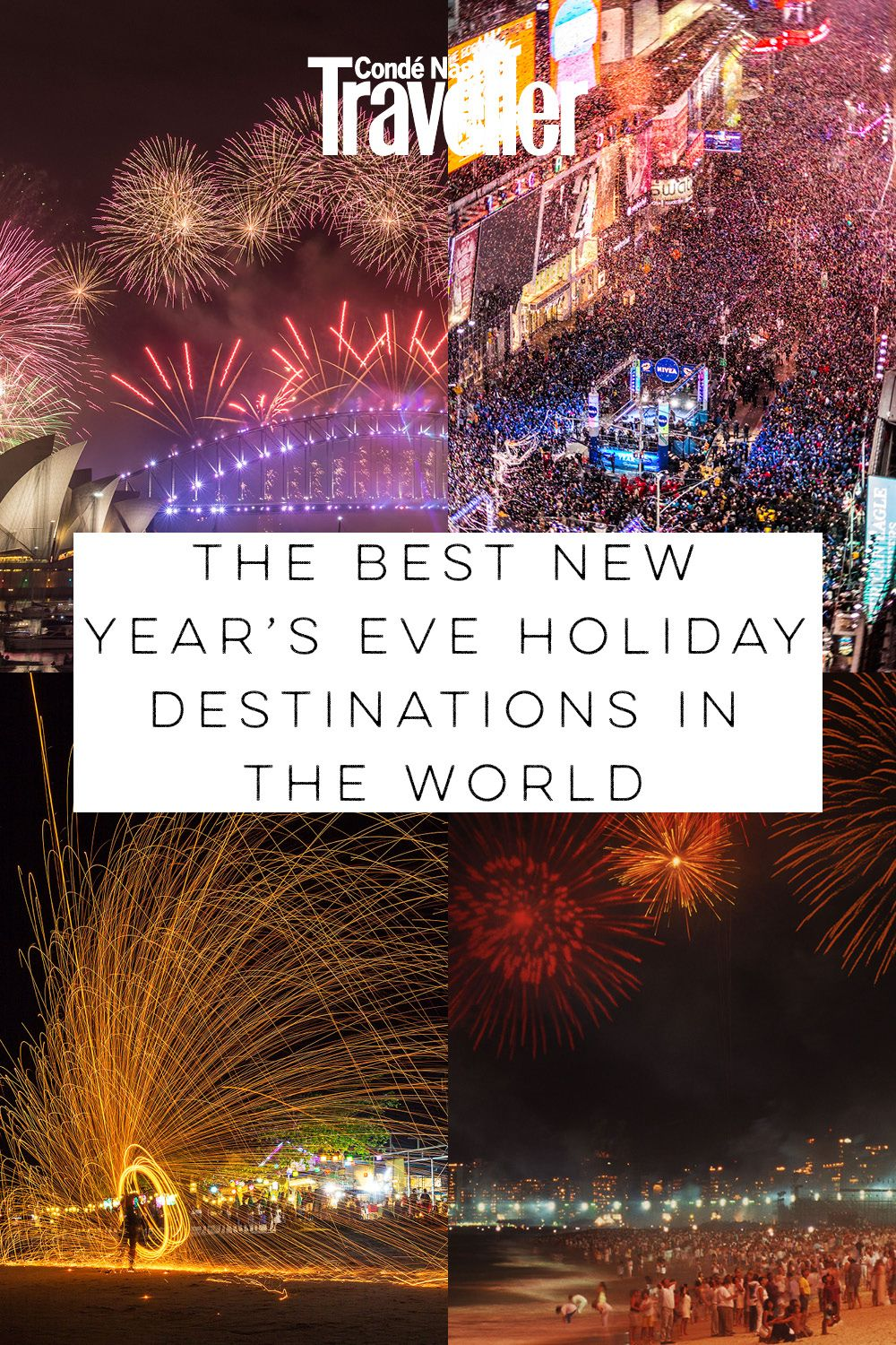 The best New Year's Eve holiday destinations around the
