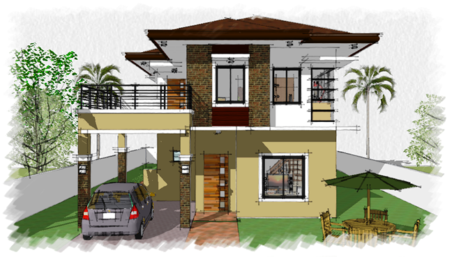 House Plan Purchase 7 Sets Of Plan Blueprint Signed Sealed P35 000 00 Only Construction House Designs Exterior House Plans House Design