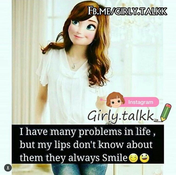 I never told my lips. Actually they r v busy smiling